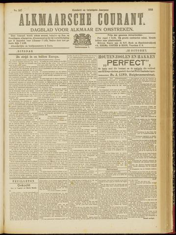 Alkmaarsche Courant 1918-10-22