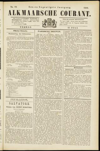 Alkmaarsche Courant 1889-07-12