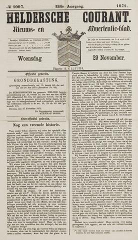 Heldersche Courant 1871-11-29