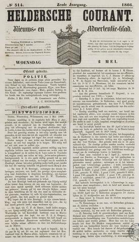 Heldersche Courant 1866-05-02