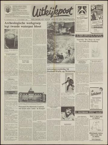 Uitkijkpost : nieuwsblad voor Heiloo e.o. 1988-11-09