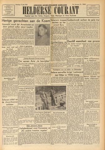 Heldersche Courant 1950-07-17