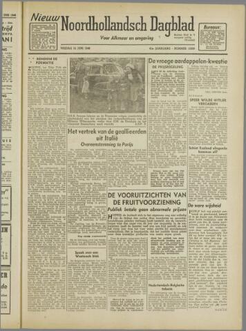 Nieuw Noordhollandsch Dagblad : voor Alkmaar en omgeving 1946-06-21
