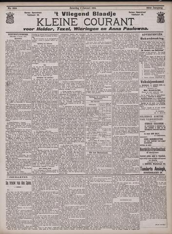 Vliegend blaadje : nieuws- en advertentiebode voor Den Helder 1904-01-09