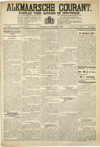Alkmaarsche Courant 1930-11-17