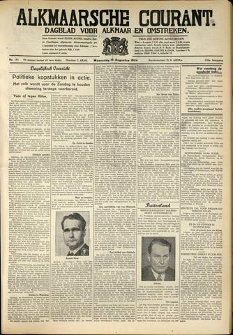 Alkmaarsche Courant 1934-08-15