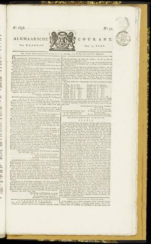 Alkmaarsche Courant 1838-07-30