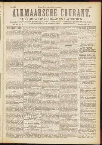 Alkmaarsche Courant 1917-10-01