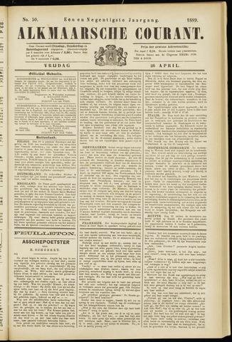 Alkmaarsche Courant 1889-04-26