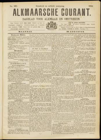 Alkmaarsche Courant 1906-08-20
