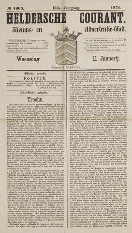 Heldersche Courant 1871-01-11