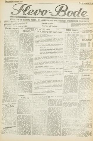 Flevo-bode: nieuwsblad voor Wieringen-Wieringermeer 1948-09-25