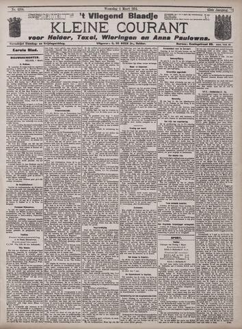 Vliegend blaadje : nieuws- en advertentiebode voor Den Helder 1914-03-04