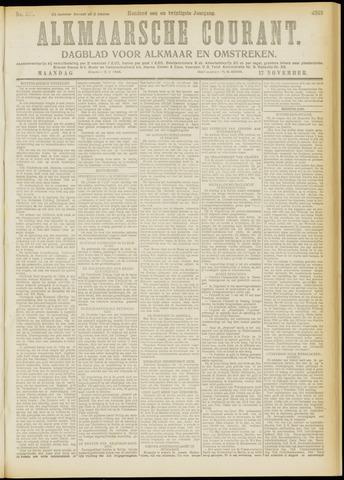 Alkmaarsche Courant 1919-11-17
