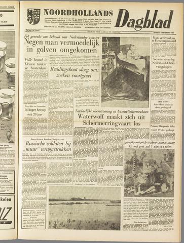 Noordhollands Dagblad : dagblad voor Alkmaar en omgeving 1961-12-05
