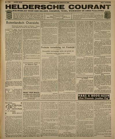 Heldersche Courant 1936-08-20