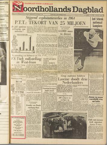 Noordhollands Dagblad : dagblad voor Alkmaar en omgeving 1965-01-04