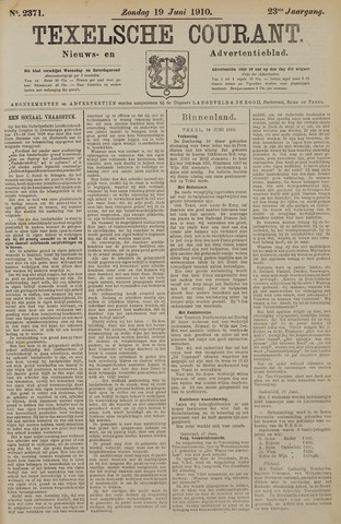 Texelsche Courant 1910-06-19