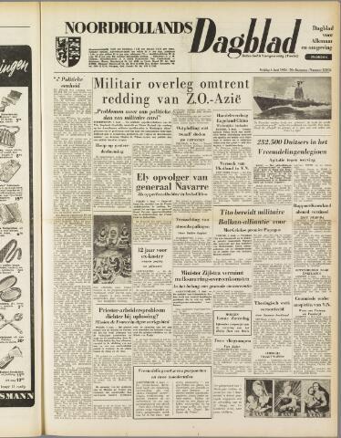 Noordhollands Dagblad : dagblad voor Alkmaar en omgeving 1954-06-04