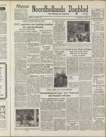Nieuw Noordhollandsch Dagblad : voor Alkmaar en omgeving 1947-12-10