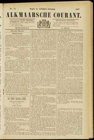 Alkmaarsche Courant 1887-07-06
