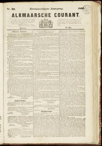 Alkmaarsche Courant 1865-05-28