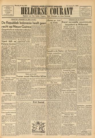 Heldersche Courant 1950-08-30