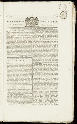 Alkmaarsche Courant 1835-03-09