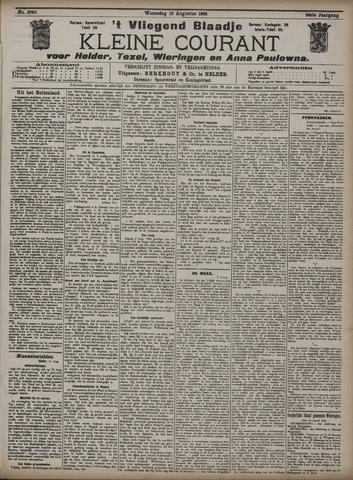 Vliegend blaadje : nieuws- en advertentiebode voor Den Helder 1908-08-12