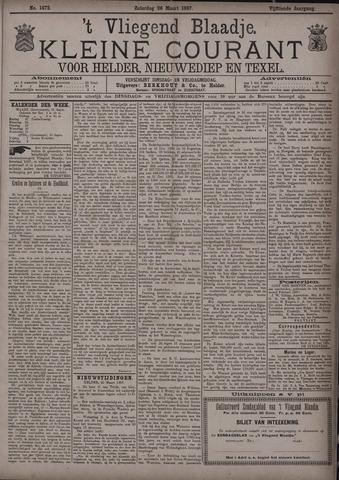 Vliegend blaadje : nieuws- en advertentiebode voor Den Helder 1887-03-26