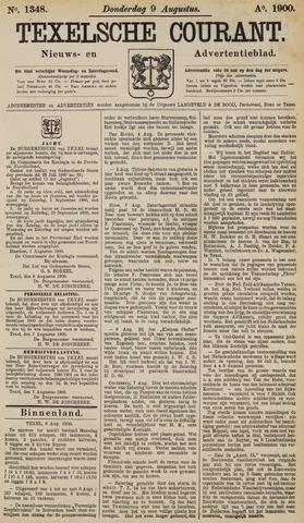 Texelsche Courant 1900-08-09