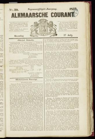 Alkmaarsche Courant 1857-07-27