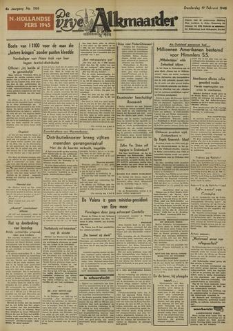 De Vrije Alkmaarder 1948-02-19