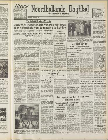 Nieuw Noordhollandsch Dagblad : voor Alkmaar en omgeving 1947-12-02