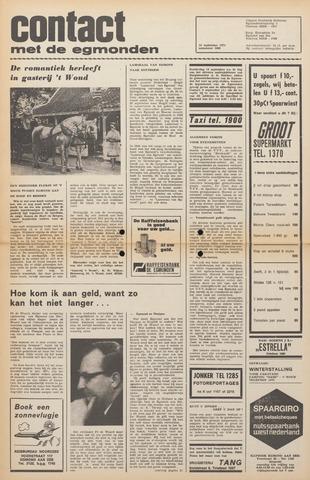 Contact met de Egmonden 1971-09-15