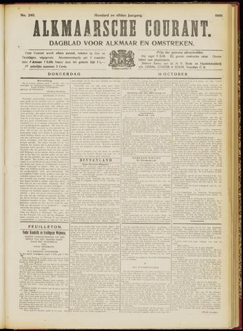 Alkmaarsche Courant 1909-10-14