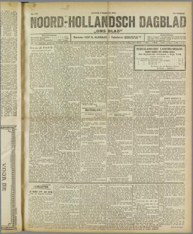 Ons Blad : katholiek nieuwsblad voor N-H 1922-09-09