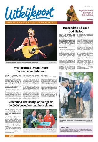 Uitkijkpost : nieuwsblad voor Heiloo e.o. 2015-09-09