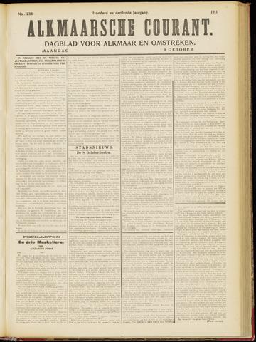 Alkmaarsche Courant 1911-10-09