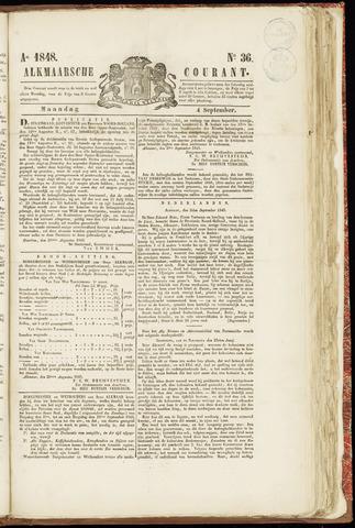 Alkmaarsche Courant 1848-09-04
