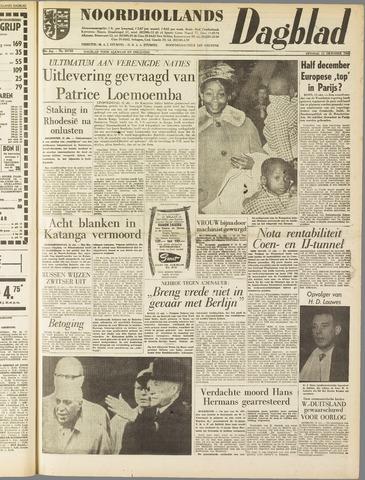 Noordhollands Dagblad : dagblad voor Alkmaar en omgeving 1960-10-11