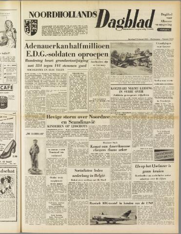 Noordhollands Dagblad : dagblad voor Alkmaar en omgeving 1954-02-27