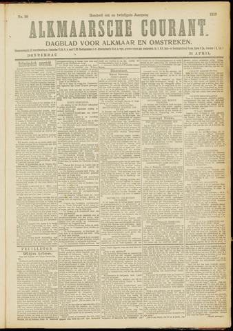 Alkmaarsche Courant 1919-04-24