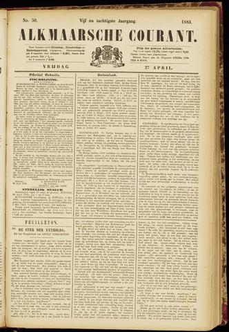 Alkmaarsche Courant 1883-04-27