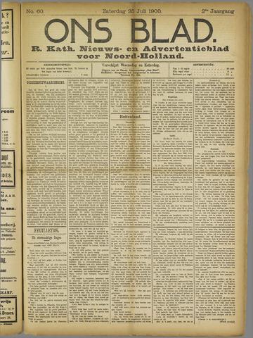Ons Blad : katholiek nieuwsblad voor N-H 1908-07-25