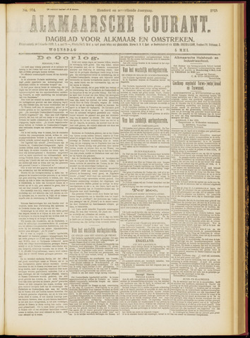 Alkmaarsche Courant 1915-05-05