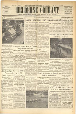 Heldersche Courant 1952-04-28