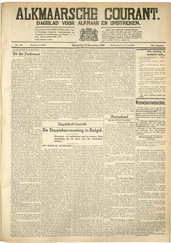 Alkmaarsche Courant 1933-12-13