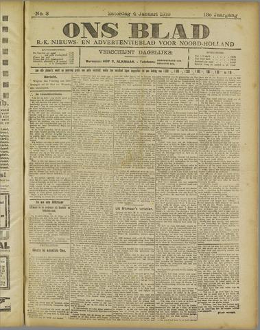 Ons Blad : katholiek nieuwsblad voor N-H 1919-01-04