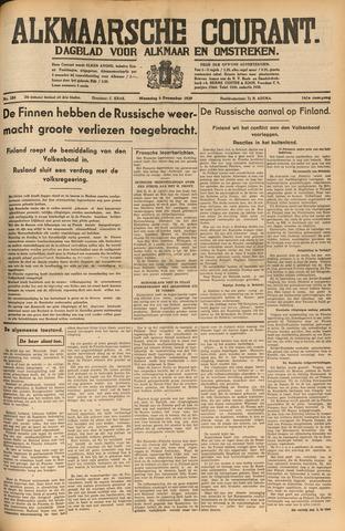 Alkmaarsche Courant 1939-12-04